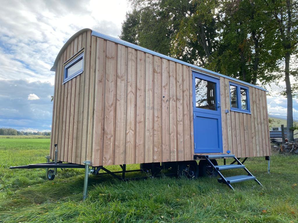 Bauwagen, Tinyhouse 6m Lärche